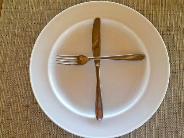 رموز ومعاني وراء الشوكة والسكينة -1