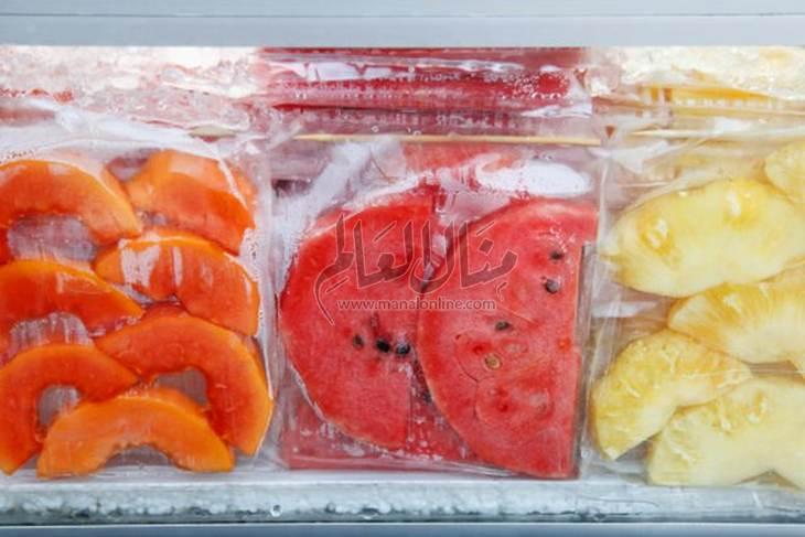 الطريقة الصحيحة لتفريز الفواكه