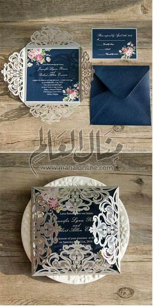 اقترب عرسك؟! إليكِ مجموعة من تصاميم دعوات العرس لتختاري منها-3