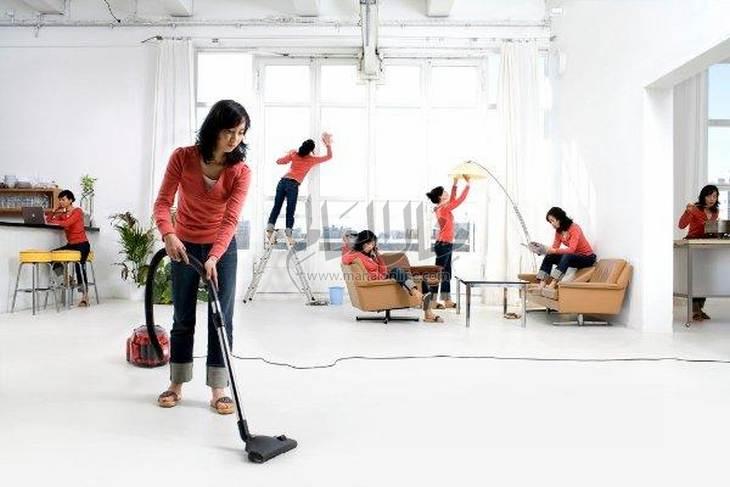 إرشادات لتنظيف المنزل كاملًا