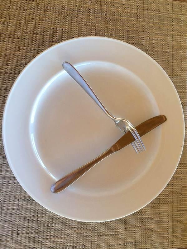 رموز ومعاني وراء الشوكة والسكينة -4