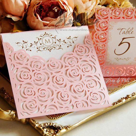 اقترب عرسك؟! إليكِ مجموعة من تصاميم دعوات العرس لتختاري منها-7