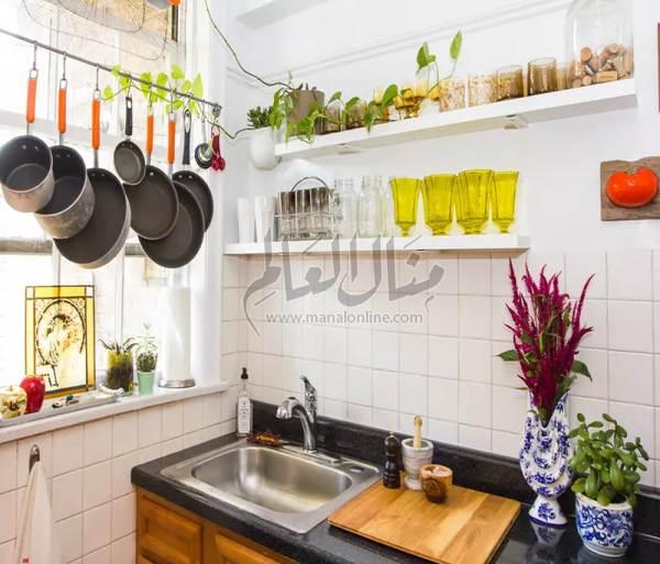 بالصور: تعليقات جديدة في المطبخ لتوفير المساحه-2