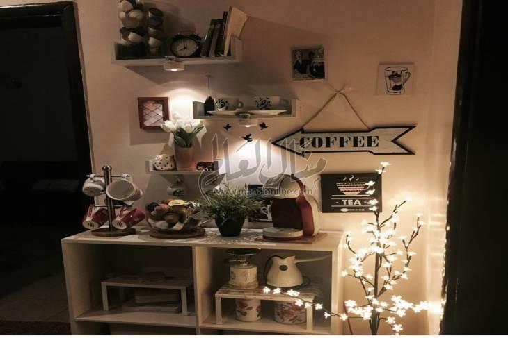 ركن القهوة ديكور جديد نفذيه لتبهري زائرينك