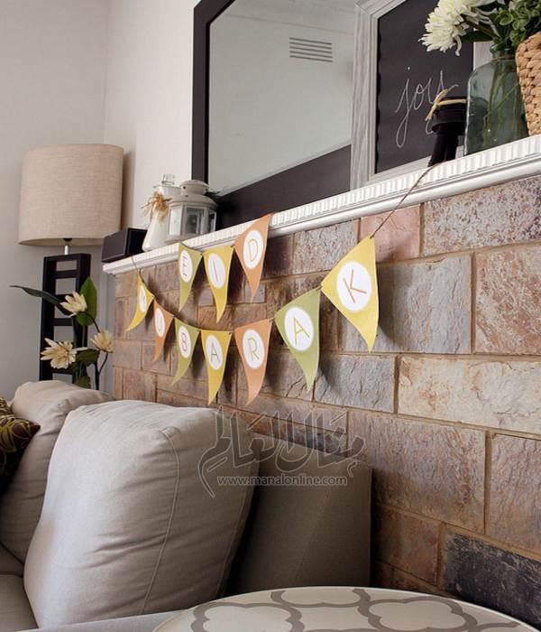 بالصور أفكار لتزيين منزلك في العيد-5