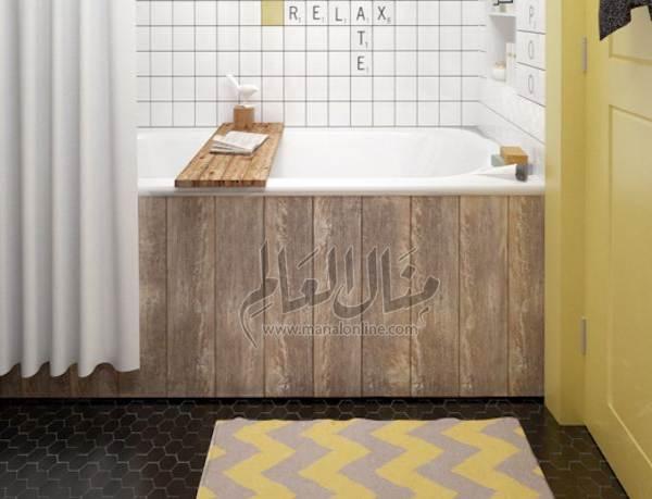 أفكار رائعة لإستغلال المساحات في الحمام-3