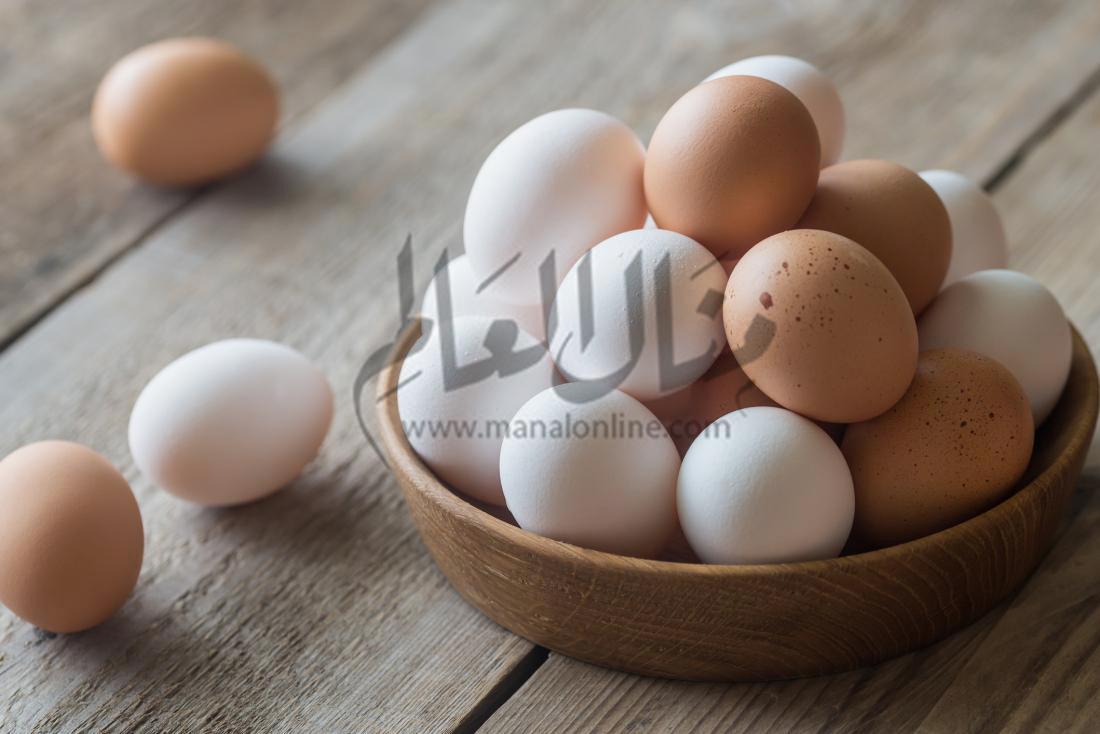 هل يجب غسل البيض قبل استعماله أم لا؟ وكيف؟! - المشاهدات : 931
