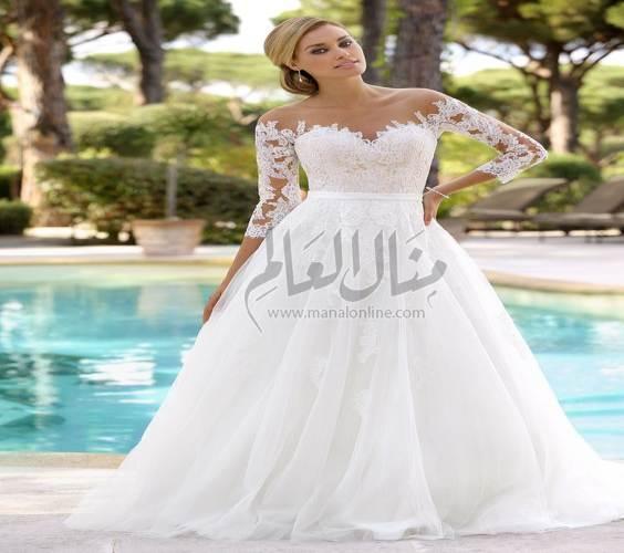 أحدث صيحات فساتين الزفاف لعام 2017-1