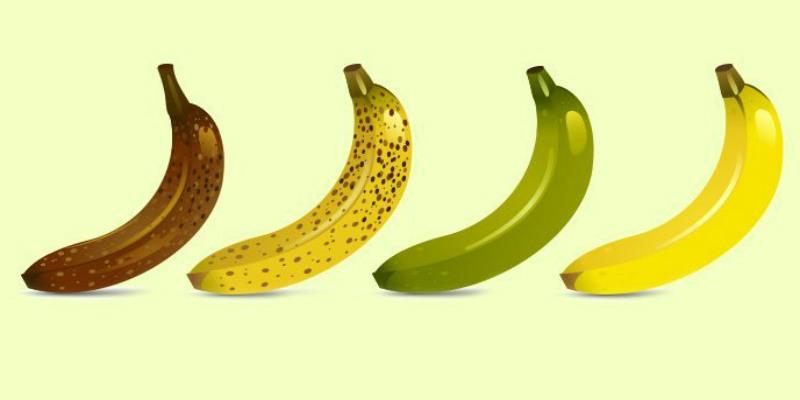 هل تعلم بأن فوائد الموز تختلف باختلاف لونه؟ أكتشف
