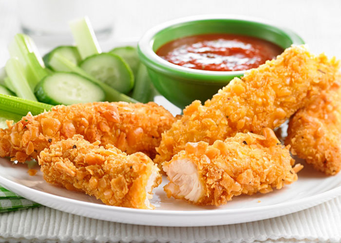 """أكتشفى.. سر تتبيلة """" الدجاج المقرمش"""" كما يقدم بالمطاعم - المشاهدات : 21.8K"""
