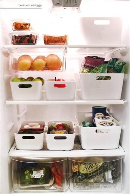 بالصور: أفكار لتنظيم الثلاجة-1