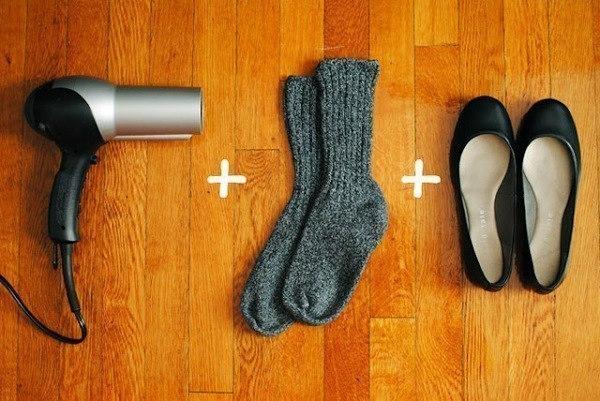 توسيع الحذاء الضيق الجديد في اقل من دقيقتين - المشاهدات : 151K