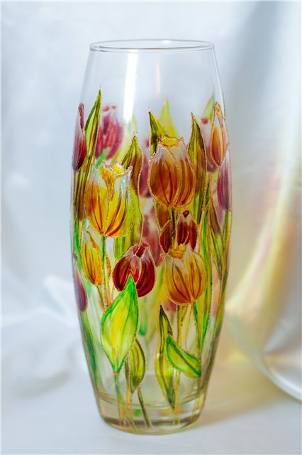 تعلمي فن الرسم علي الزجاج - المشاهدات : 29.4K
