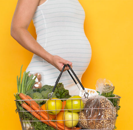 الطريقة الصحية لاكتساب الوزن أثناء فترة الحمل