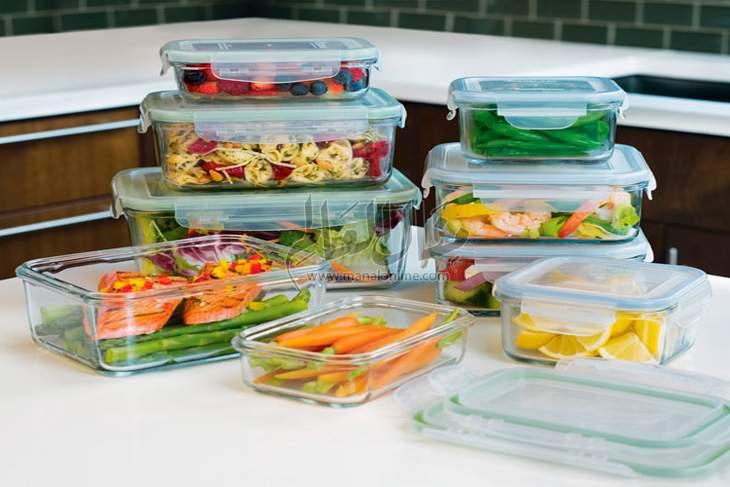 تخزين الطعام في المنزل<