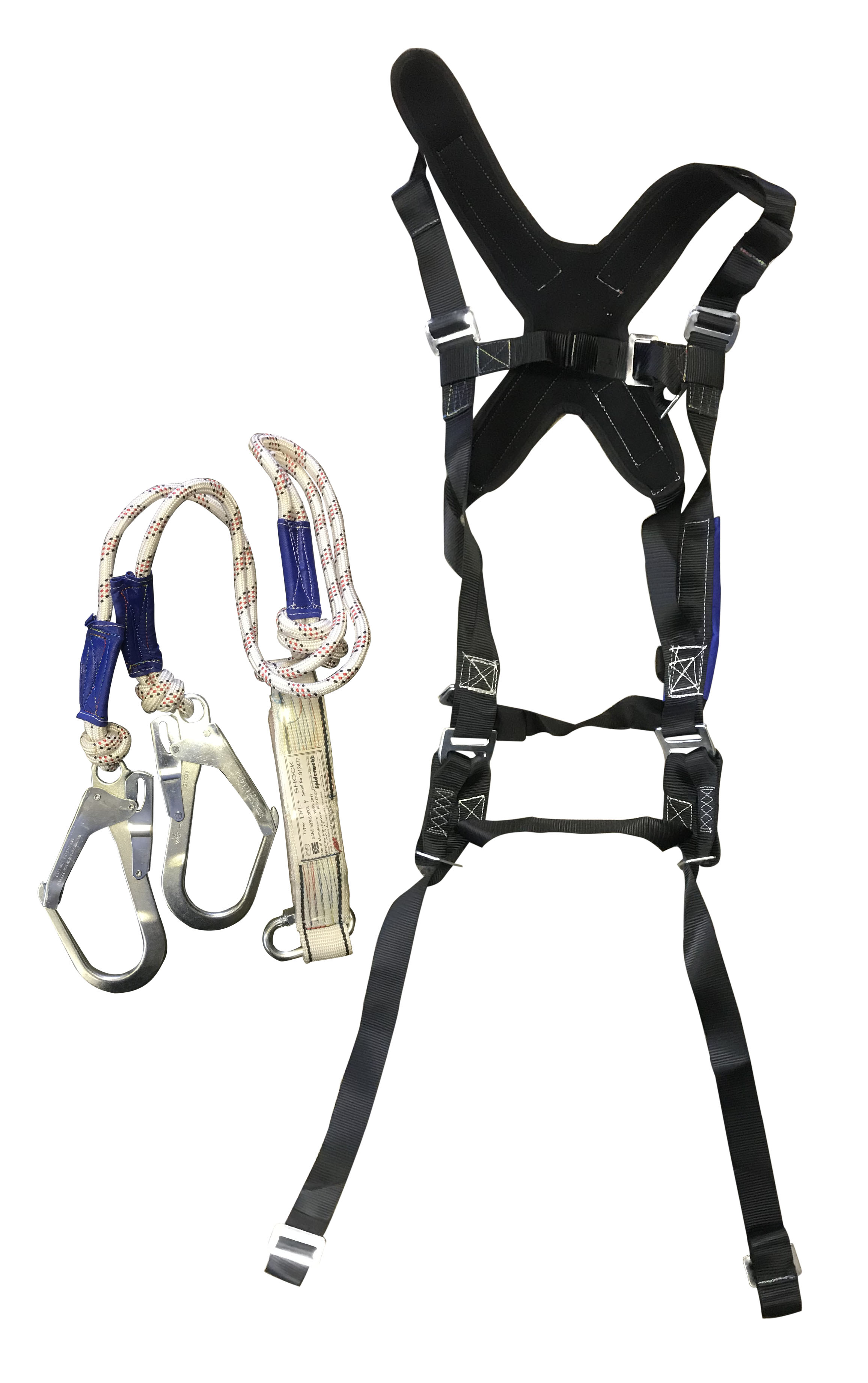 Harness safetyultimate multiprocw dbl lanyard mandirk pty ltd harness safety fall arest sabs marked and compliant xflitez Choice Image