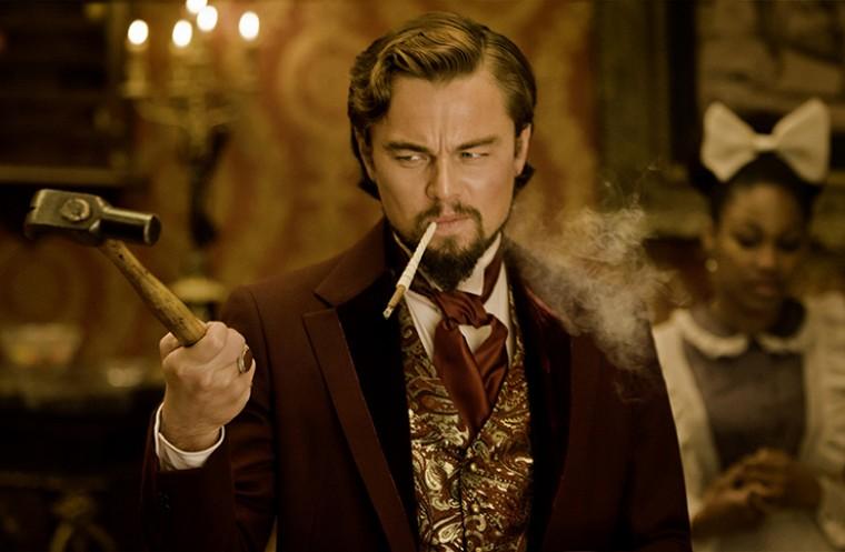 Leonardo DiCaprio in Quentin Tarantino's Django Unchained
