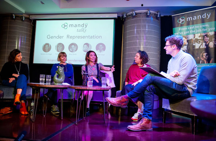 Mandy talks panel