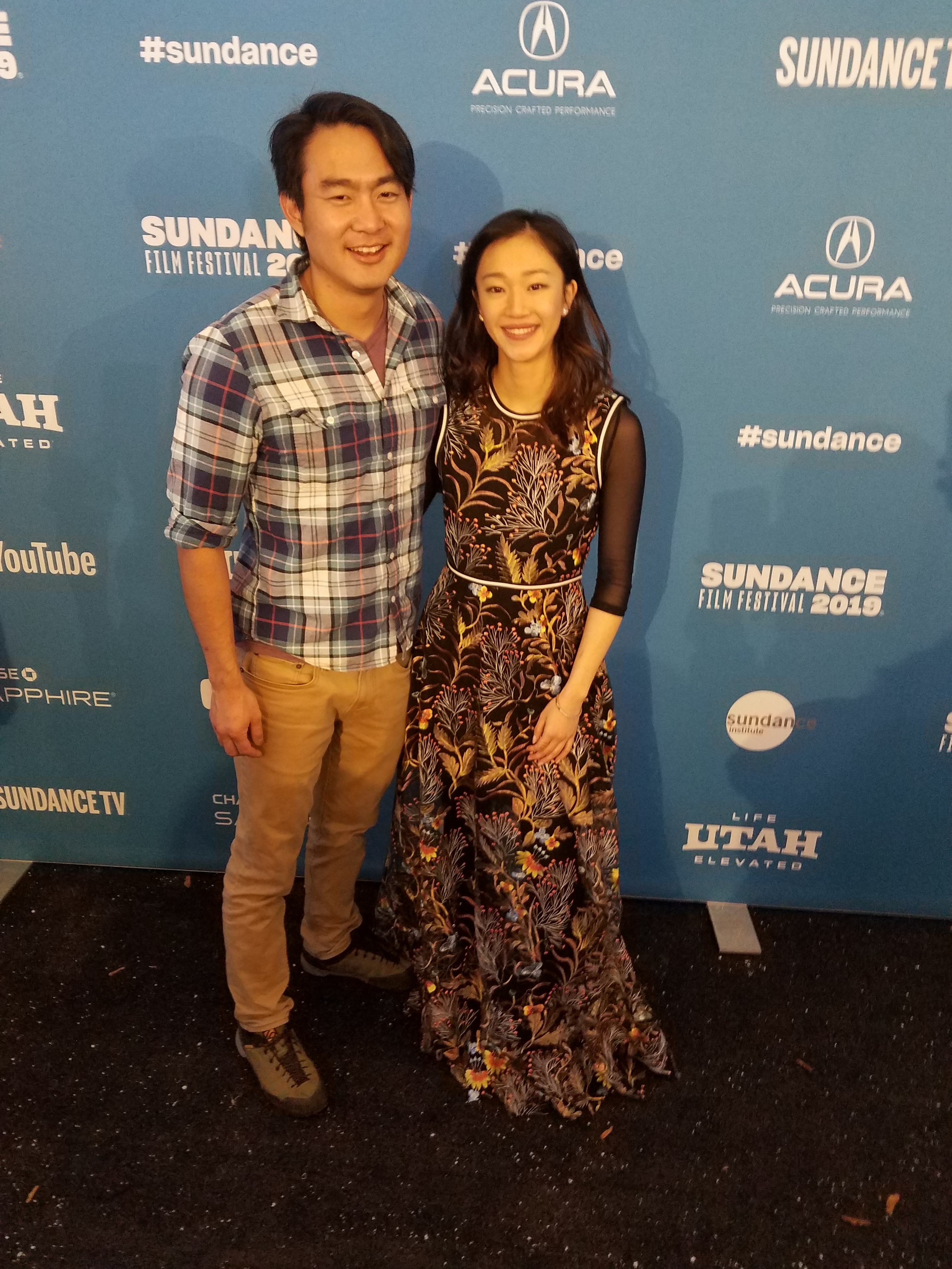 Roger Suen and Tiffany Chuat the Sundance premiere