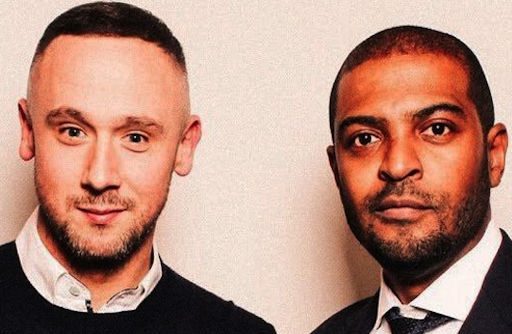 Noel Clarke and Jason Maza