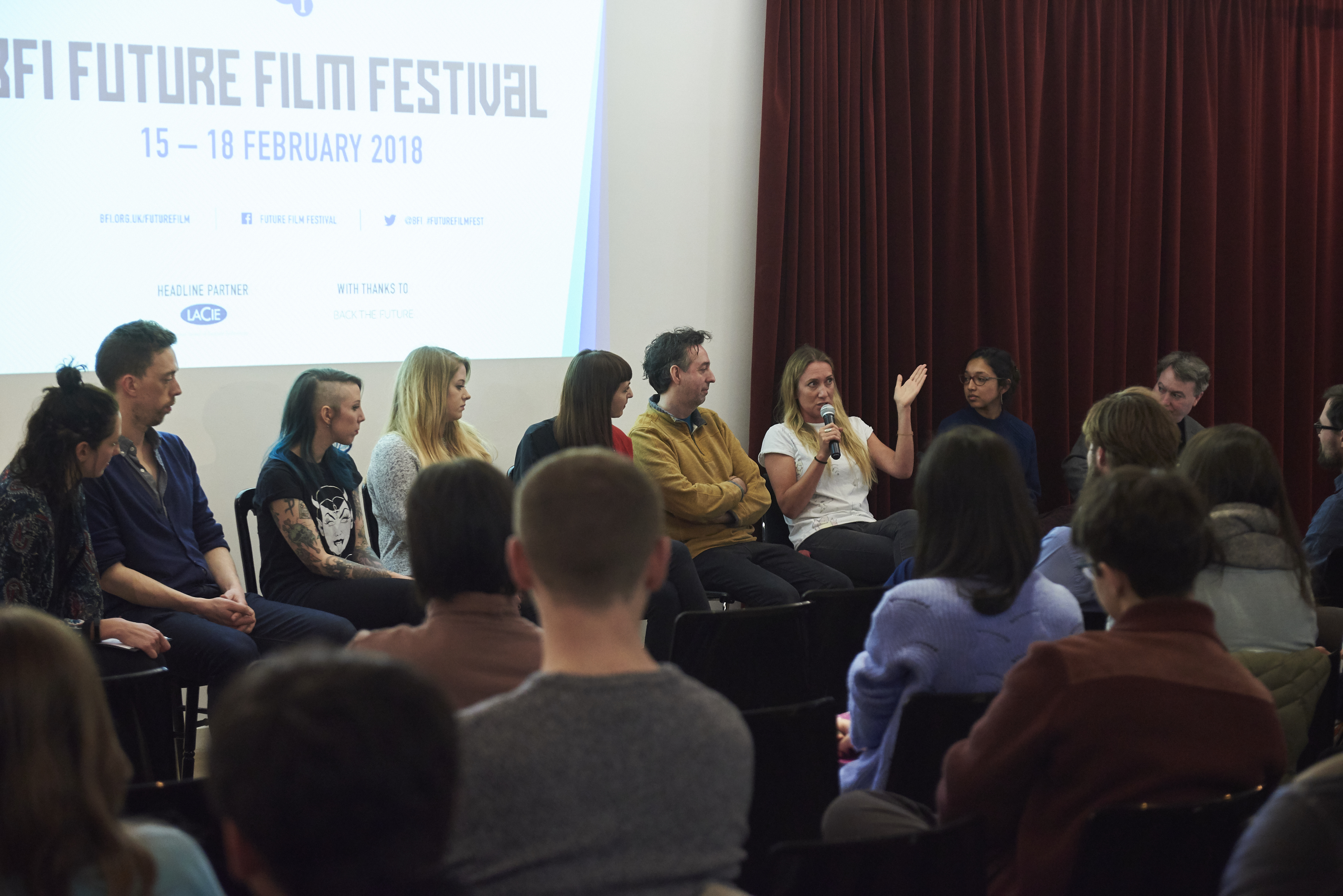 BFI Future Film Festival back in 2018