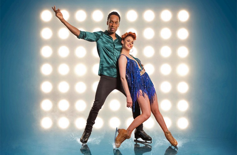 Dancing on Ice competitors Lemar and Melody le Moal
