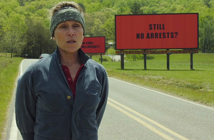 three billboards outside of ebbing, missouri casting awards acting movie