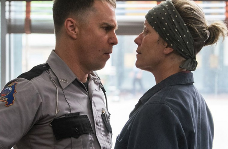 SAG award winners 2018 three billboards outside of ebbing missouri