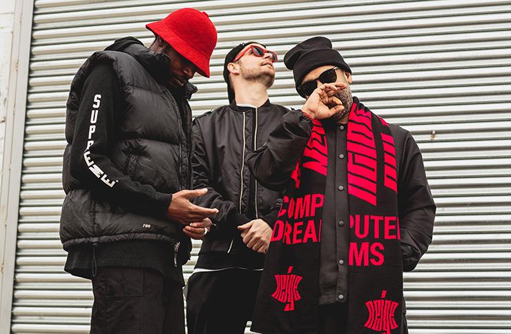 Rap artist Foreign Beggars