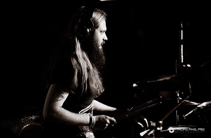 Drummer Tom Atherton