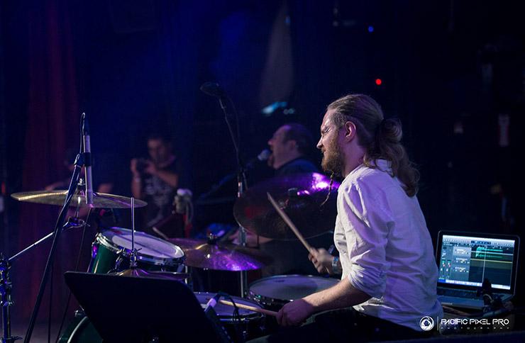 Drummer Tom Atherton in LA