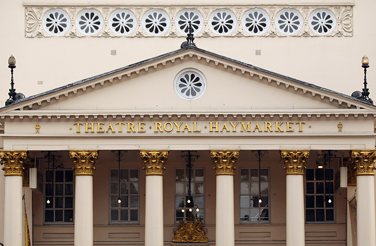 The Theatre Royal Haymarket in London is up for sale