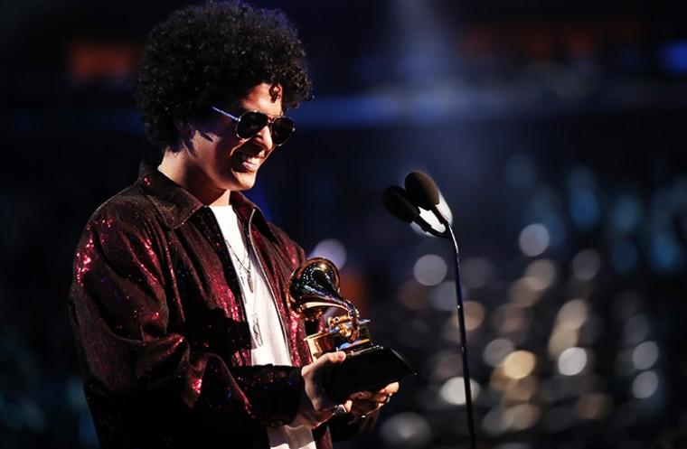 Grammys 2018 – Bruno Mars wins a Grammy