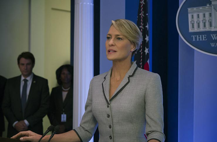 House of Cards star Robin Wright