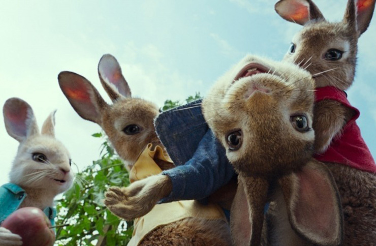 Sony apologises over 'food bullying' scene in Peter Rabbit movie