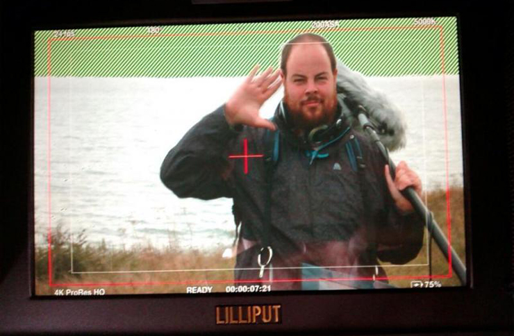 Graeme Willetts, sound recordist