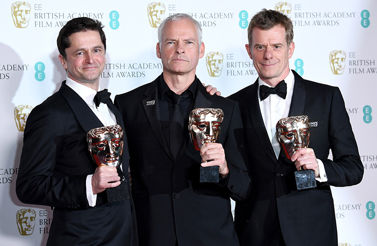 The BAFTA film award winners 2018 revealed – The Shape of Water and Three Billboards win big