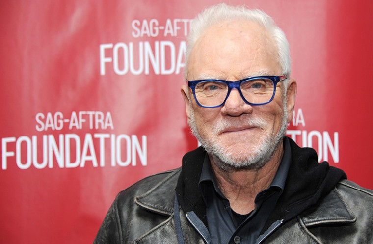 Malcolm McDowell at the SAG-AFTRA
