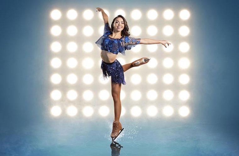 Dancing on Ice star Vanessa Bauer