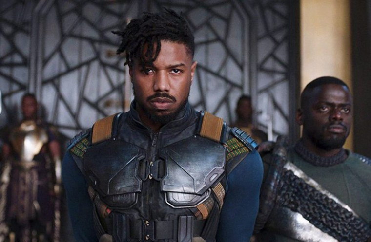 Black Panther's Michael B. Jordan as Killmonger