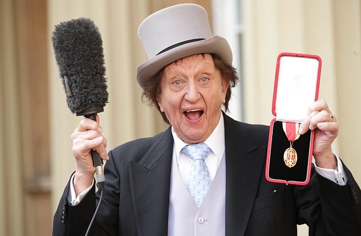British comedy legend Sir Ken Dodd dies, aged 90