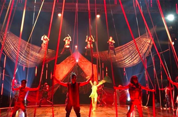 Cirque du Soleil aerialist Yann Arnaud dies during VOLTA show in Florida