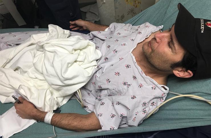 Corey Feldman in hospital after stabbing attack