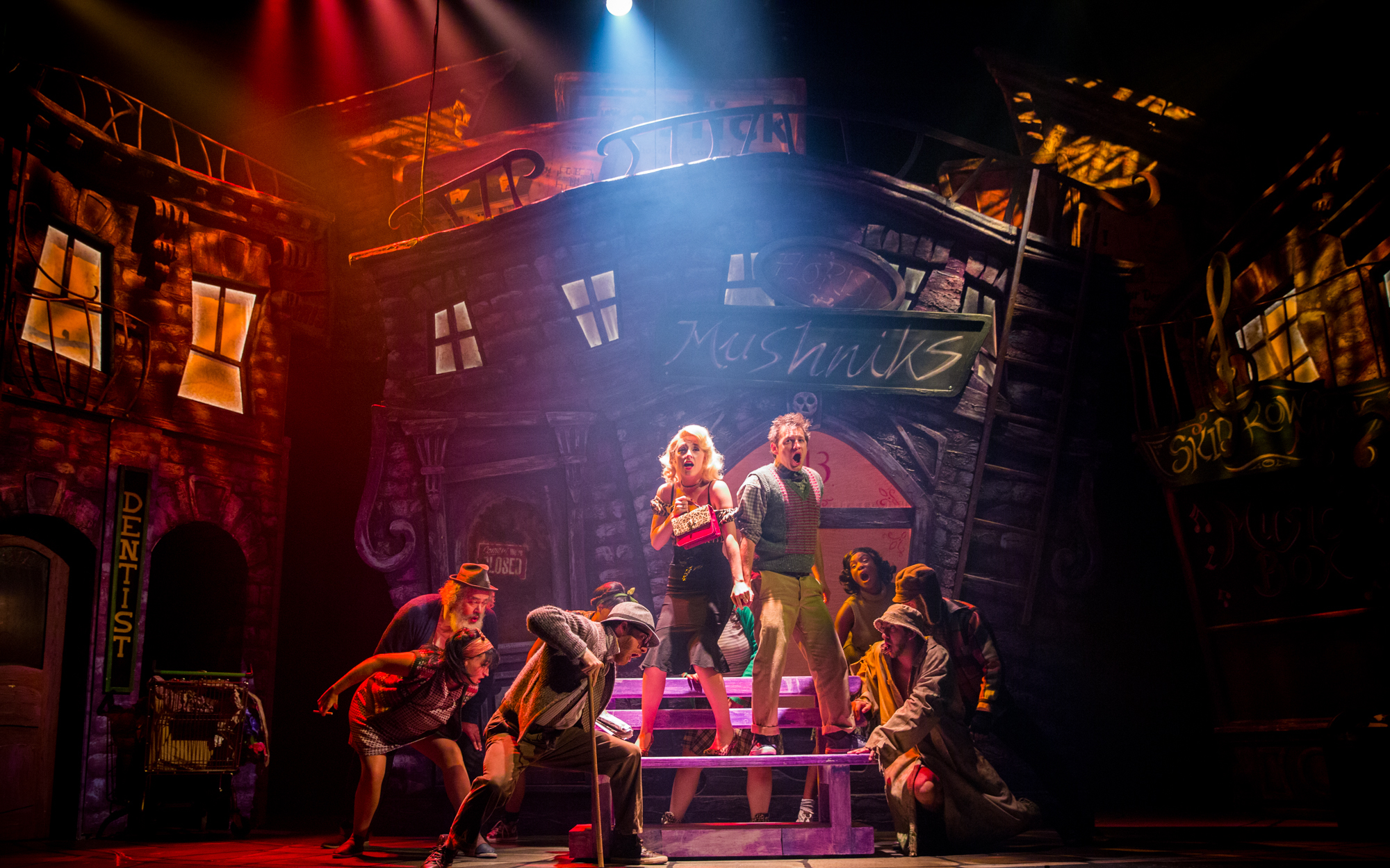 Little Shop of Horrors musical on London's West End