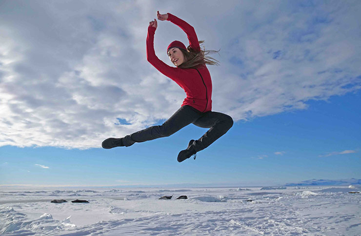 Antartica: The First Dance choreographer and director Corey Baker on how he shot dance at -16°C