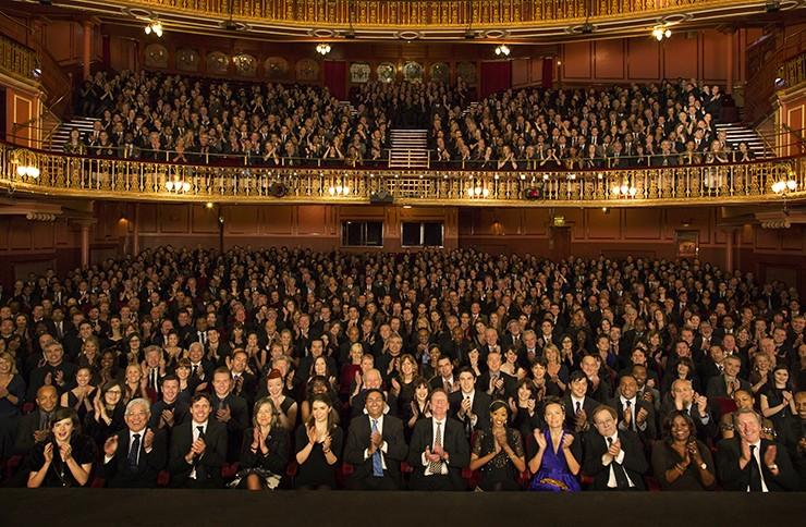UK theatre awards winners 2017