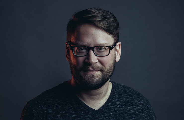 Dallas Taylor, Twenty Thousand Hertz podcast host and Defacto Sound creative director