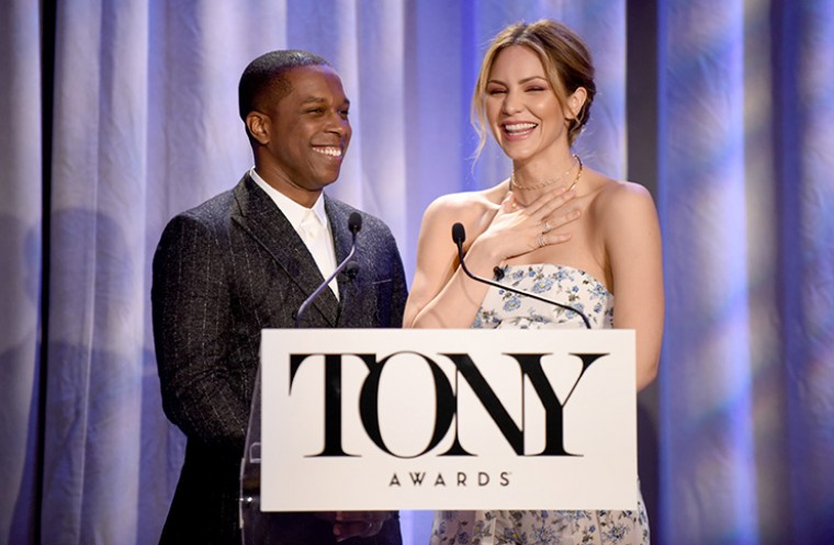 Tony Nominations 2018 – Leslie Odom Jr. and Katharine McPhee