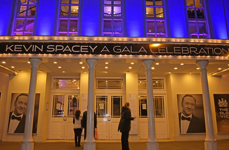 Kevin Spacey rapp gay theatre news old vic
