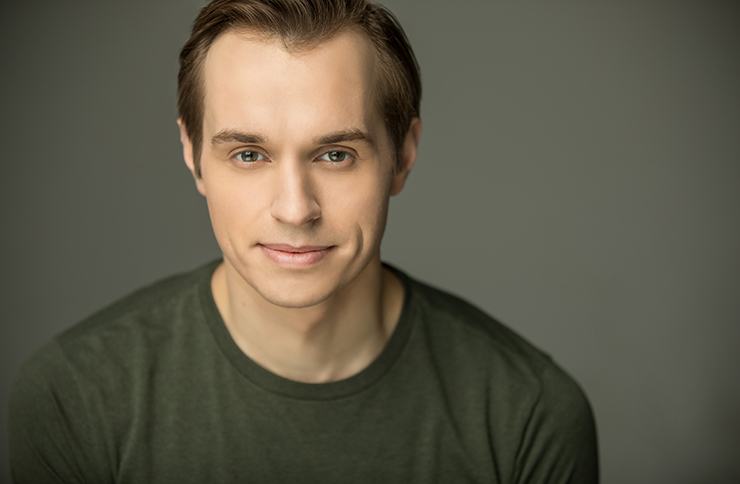 Anastasia actor Zach Adkins